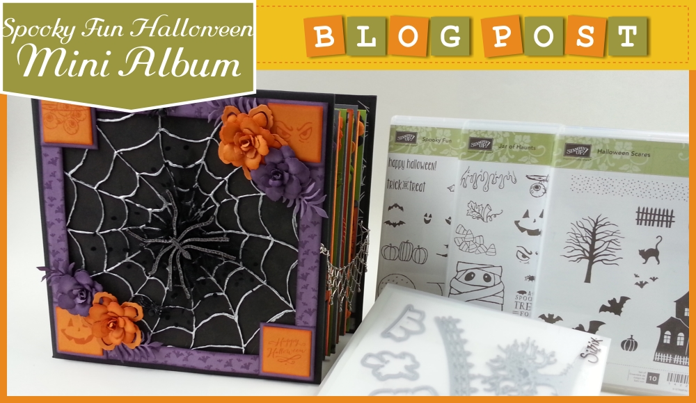 blogpost halloween mini album Spooky fun 1
